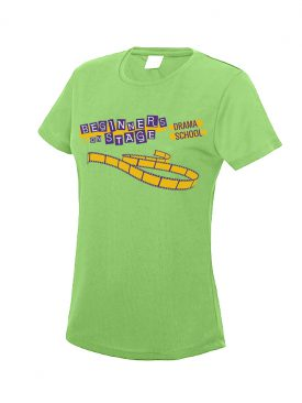 Cool T Women (Girlie) – Electric Green