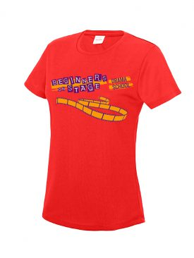 Cool T Women (Girlie) – Fire Red