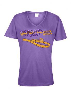Cool T Women (VNeck) – Purple