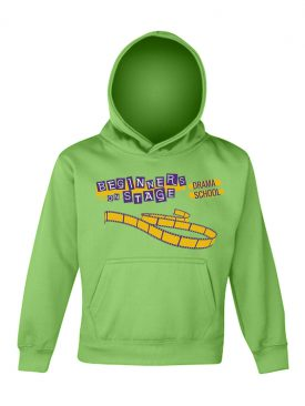 Electric Hoodie Kids – Electric Green