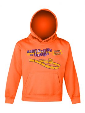 Electric Hoodie Kids – Electric Orange
