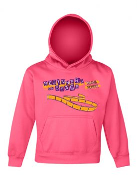 Electric Hoodie Kids – Electric Pink