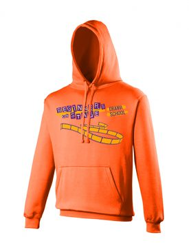 Electric Hoodie (Uni Sex) – Electric Orange
