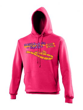 Hoodie College (Uni Sex) – Hot Pink